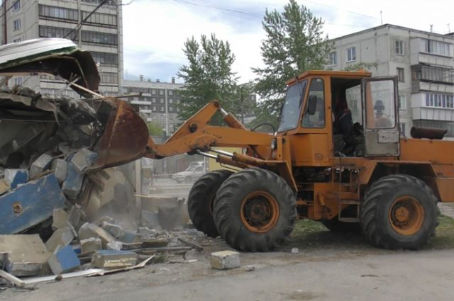 ВЧелябинске занеделю снесли 15 ларьков сшаурмой