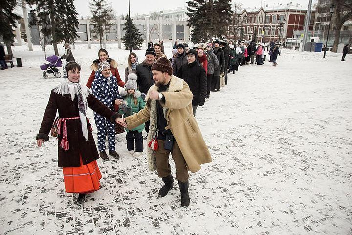 «Приходите всей семьей»: всквере наплощади Куйбышева пройдут Рождественские гуляния