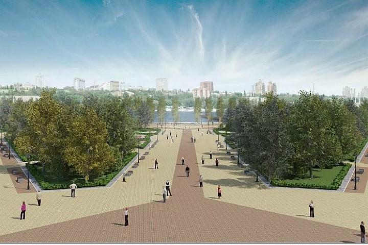 Парк напротив стадиона «Ростов-Арена» откроют 1мая