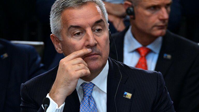 Глава Черногории объявил о переходе его партии в оппозицию