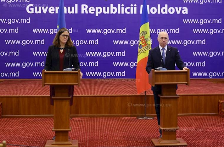 EC стал главным торговым партнером Молдовы