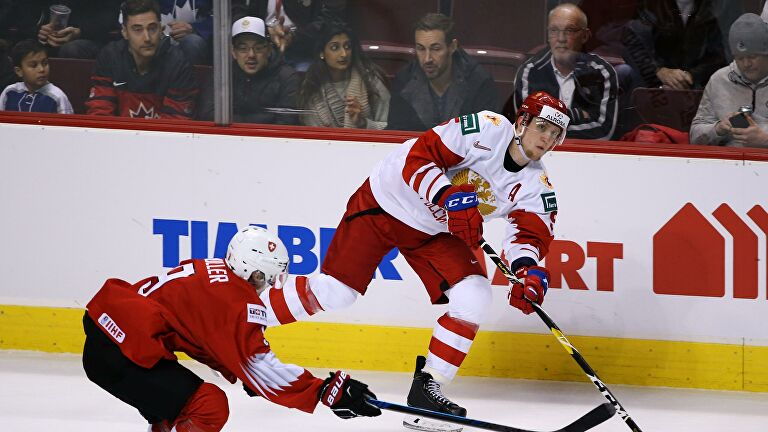 Сборная России по хоккею уступила Швейцарии в матче Еврочелленджа
