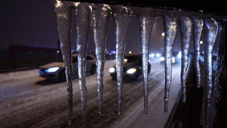 Ледяные дожди продолжатся вмосковском регионе втечение дня