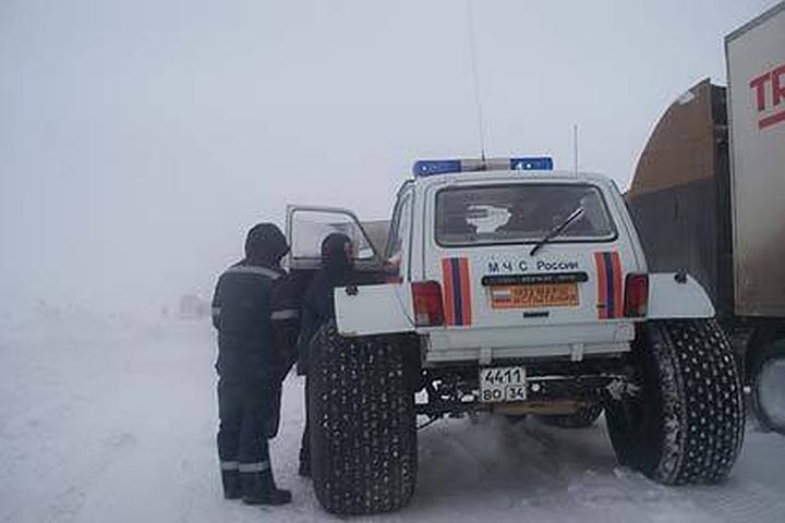 Волгоградцев предупредили о трудной обстановке нафедеральных трассах