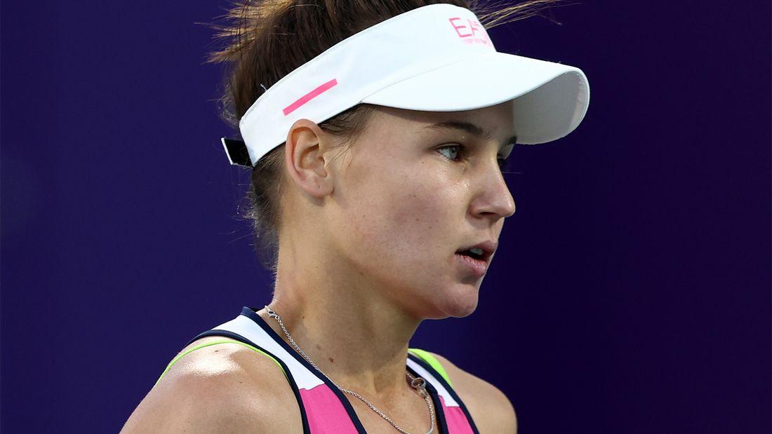 Кудерметова в двух сетах обыграла 481-ю ракетку мира и вышла в 3-й круг турнира в Чарльстоне