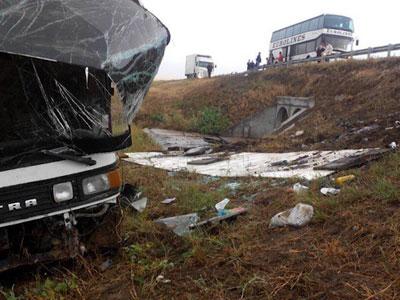 Автобус Москва-Махачкала попал в трагедию вВолгоградской области