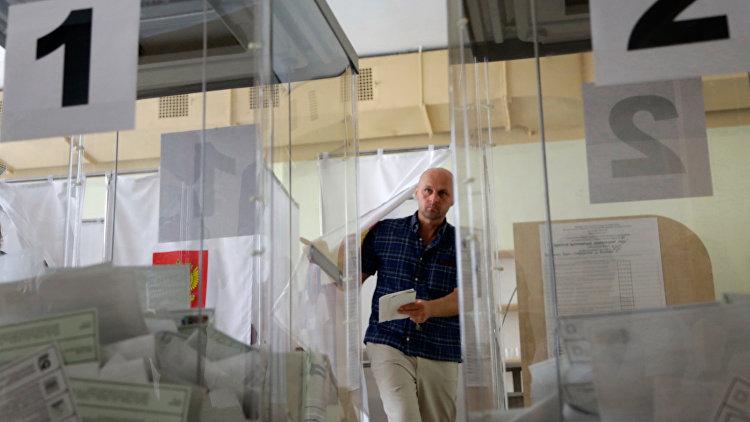 Экзитполы дали «Яблоку» 2-ое место нагородских выборах вПетербурге