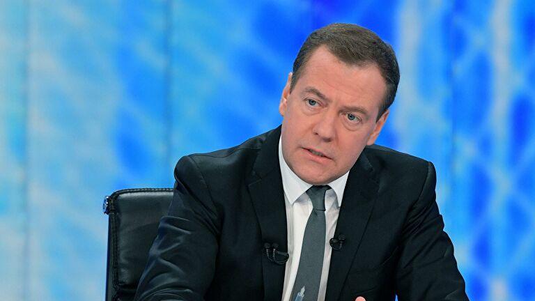 Медведев назвал условия заключения газового соглашения с Киевом