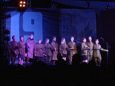 ВВолгоградской области открыта стела воинской славы