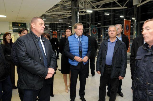 Временная комиссия Совета Федерации инспектирует вВолгограде инфраструктуруЧМ