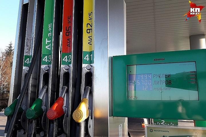 Топливо наАЗС вБеларуси с23сентября подорожает на1 копейку