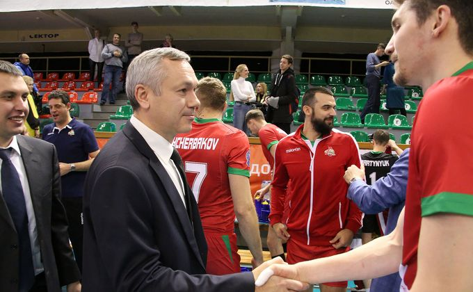 «Локомотив» вышел вгрупповой этап волейбольной Лиги чемпионов