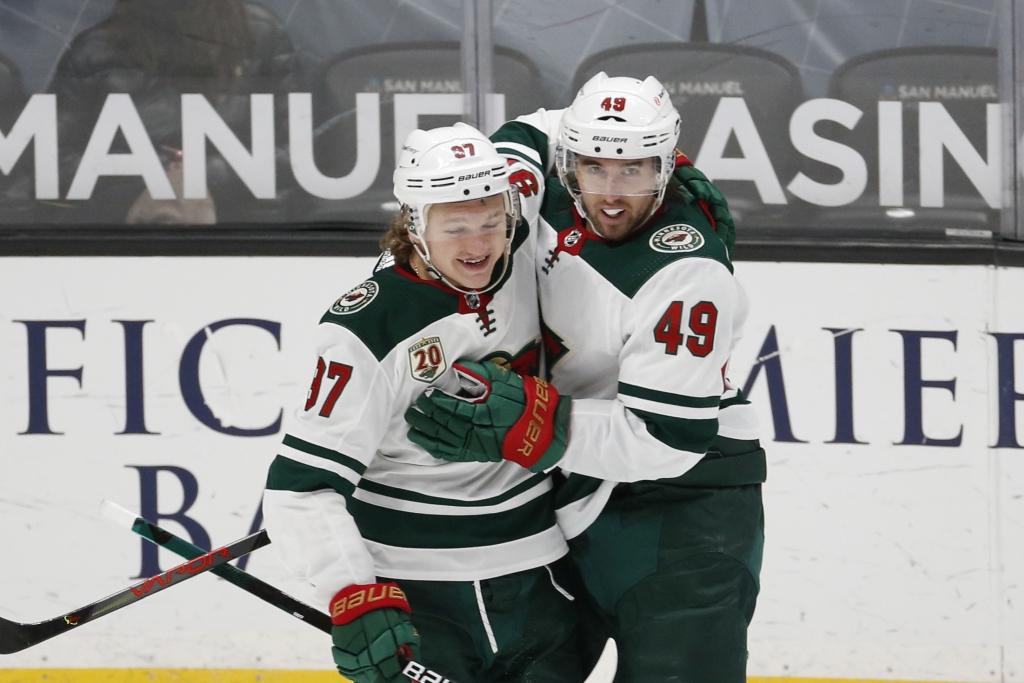 Капризов быстрее всех новичков «Миннесоты» набрал 10 очков в НХЛ