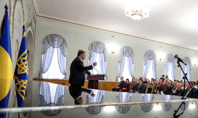 Пётр Порошенко пожаловался нанехватку времени для саморазвития