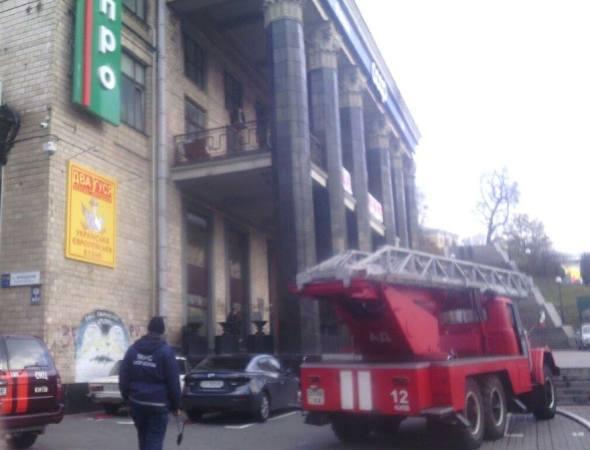 Педагог умер впроцессе пожара вшколе