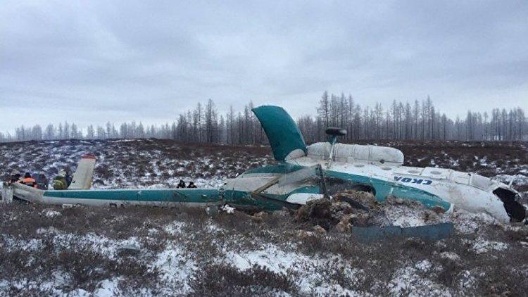 МАК: Вертолет Ми-8 разбился наЯмале из-за нехватки топлива