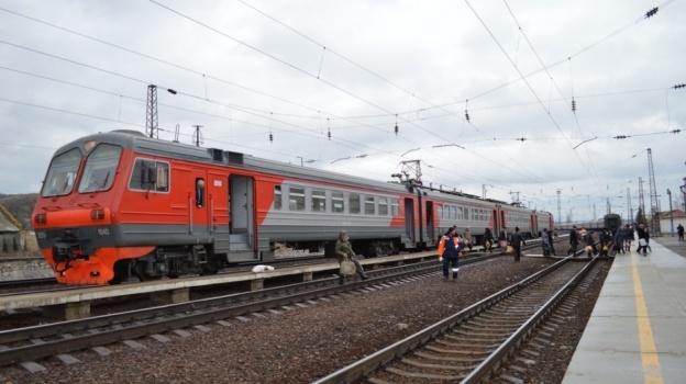 В столицеРФ загорелась электричка: тысяча пассажиров эвакуированы