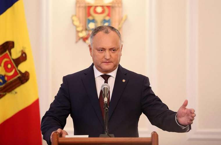 Президент Молдавии просит «Газпром» снизить цену нагаз на10-15%