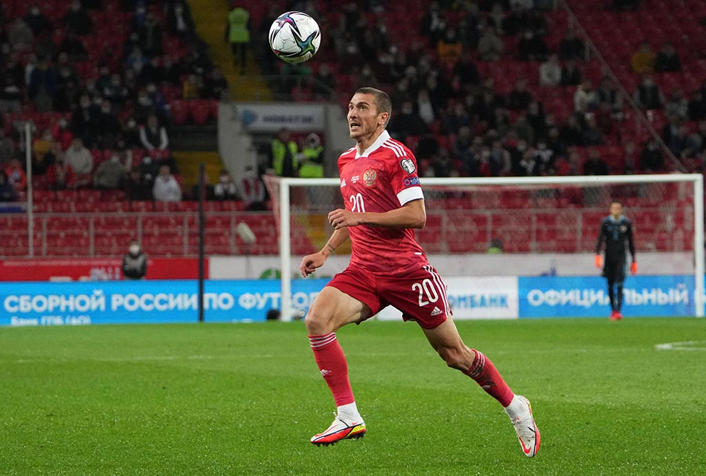 Алексей Ионов пропустит матчи сборной России в отборе ЧМ-2022 со Словакией и Словенией