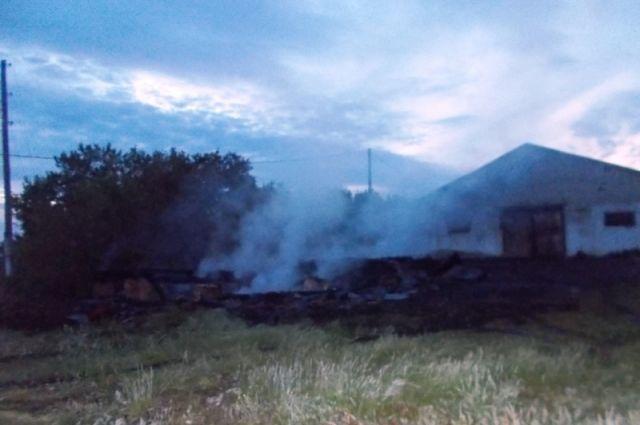 ВСамарской области мстительный селянин сжег склад работодателя из-за заработной платы