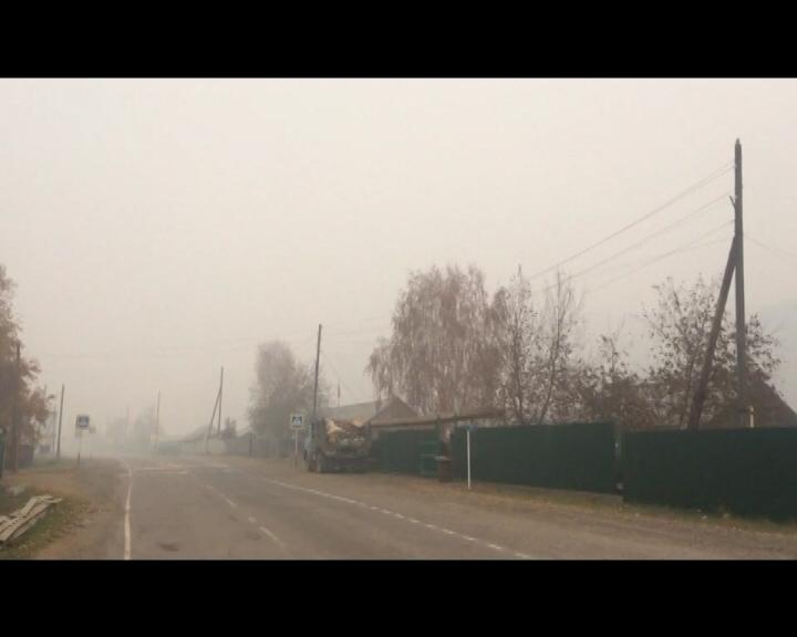 55 природных пожаров действуют вИркутской области 20августа