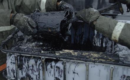 В Кременчуге произошел взрыв емкости с мазутом на нефтебазе