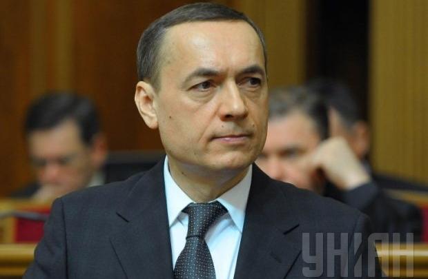 Н.Мартыненко объявил , что обвинения против него сфальсифицировано
