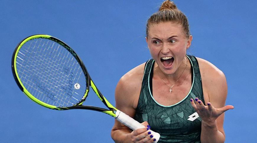 Александра Саснович проиграла в 1/8 финала турнира в Будапеште