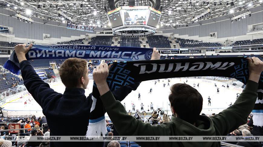 Хоккеисты минского «Динамо» победили «Сочи» в матче чемпионата КХЛ