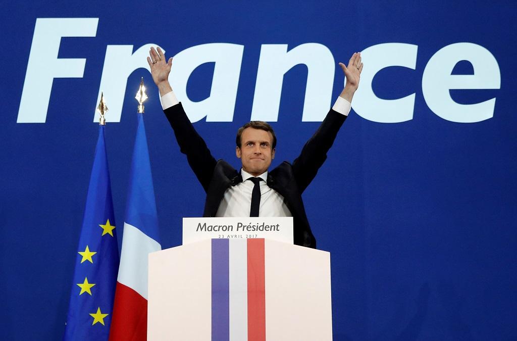 Выборы президента Франции: опубликованы итоги первого тура