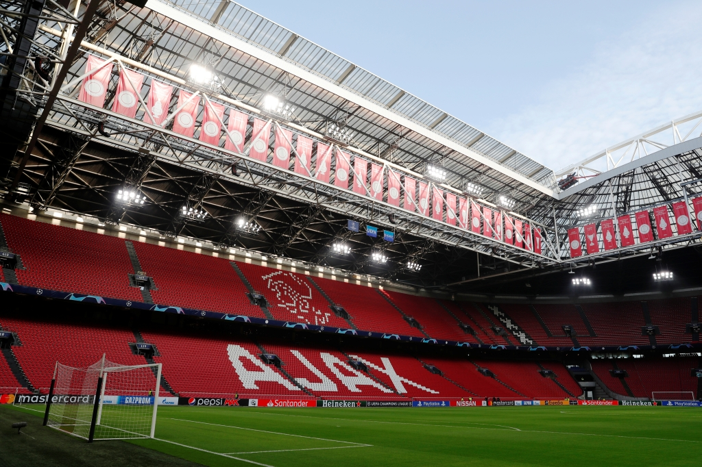 На матчах Евро-2020 в Амстердаме смогут присутствовать 12 тысяч зрителей