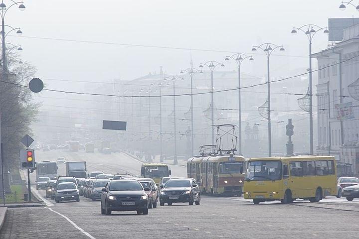 Минэкологии Башкирии: Причина хим. запаха вУфе— пыль