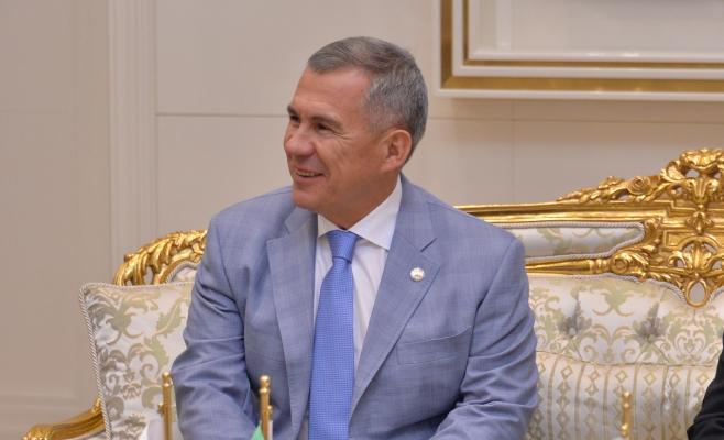 Рустам Минниханов встретился спрезидентом Туркменистана