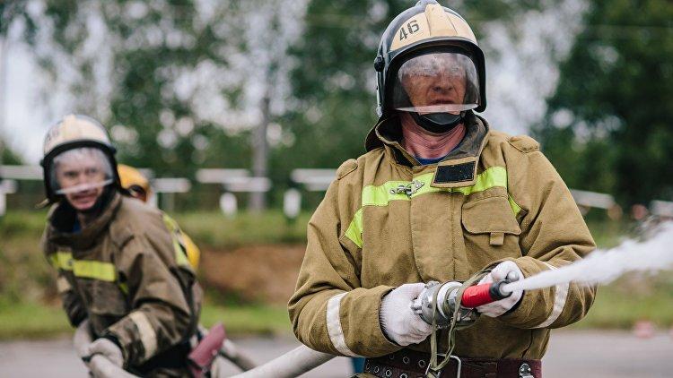 Пожар впроизводственном цехе под Новосибирском локализован, пострадавших нет