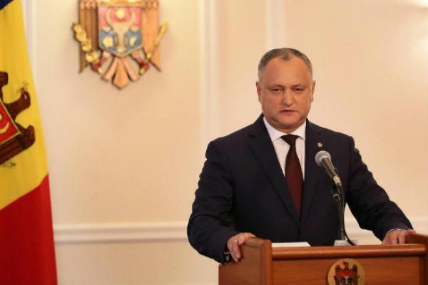 Додон раскритиковал участие армии Молдавии вучениях НАТО