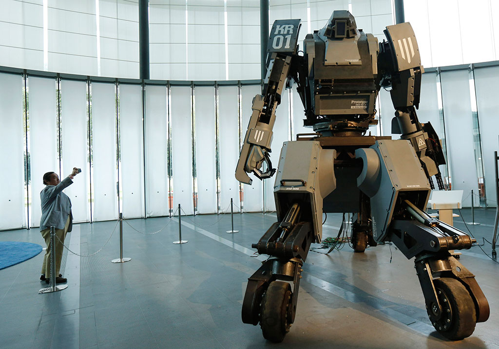 robots in military