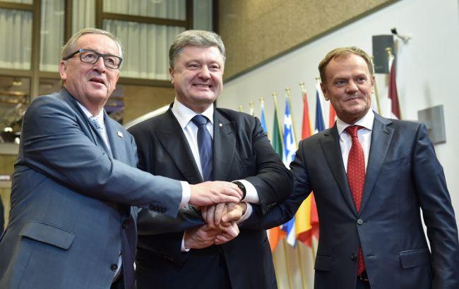 Проведённые государством Украина реформы дозволят сделать «безвизовые» рекомендации ксередине весны — Юнкер