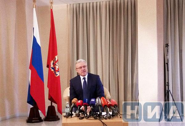 Врио Усс пообещал провести газ вКрасноярск к 2023г.