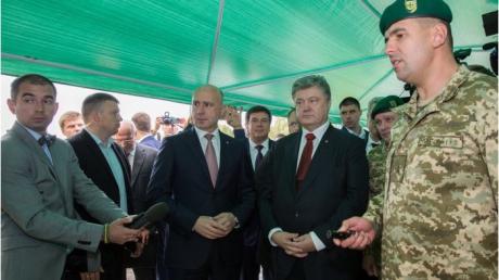 «Мынамерены резко активизировать сотрудничество между государством Украина иМолдовой»,— Порошенко
