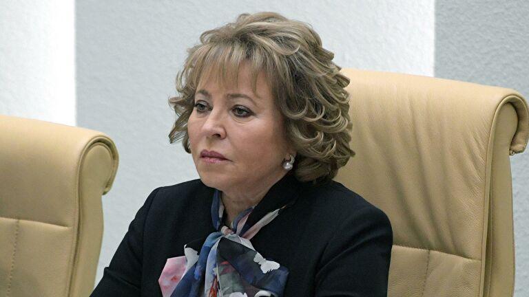 Матвиенко предложила наказать Новака из-за задержки закона о счетчиках