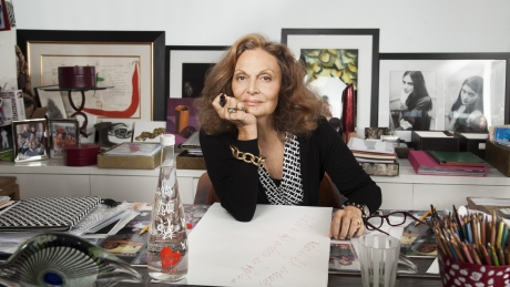 Легендарный модельер Диана фон Фюрстенберг сделала комплимент молдавским женщинам
