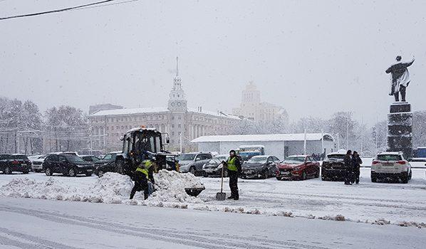 Кконцу рабочей недели вВоронеже потеплеет до0°C ипойдет снег