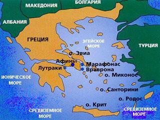 Пелопоннес какое море
