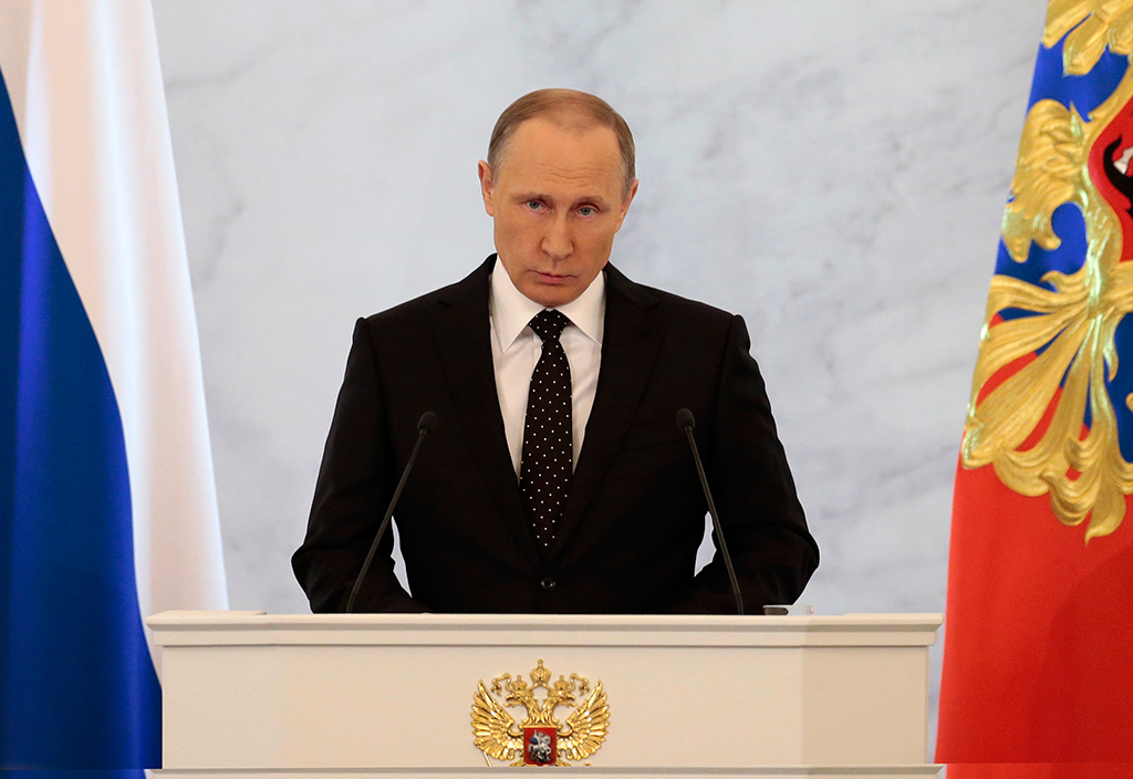 Путин заявил, что в отношениях России и США наблюдается деградация доверия