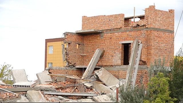 ВАстане в итоге обрушения встроящемся помещении погибли два человека