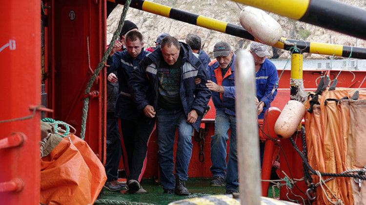 ВКрыму схвачен подозреваемый поделу озатоплении плавкрана