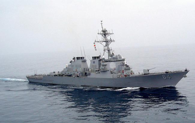 Эсминец США «Карни» покинул воды Черного моря преждевременно
