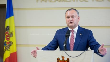 Лидирует руководитель Партии социалистов Игорь Додон— Выборы президента Молдовы