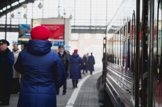 Калининград: Литва отказалась отприцепных вагонов кпоезду Москва