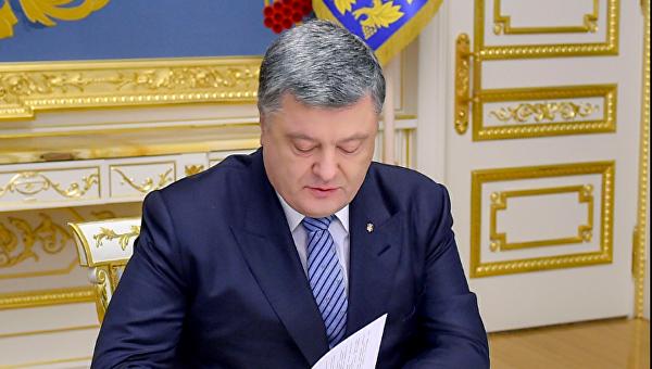 Порошенко одобрил выделение гуманитарной помощи Молдове для борьбы споследствиями непогоды